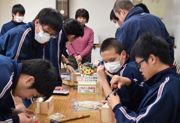 とちぎ国体の成功へ協力 特別支援学校が募金箱手作り 栃木|県内主要 ...