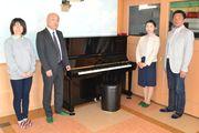 台風被災のこども園に贈り物 歯科医院からピアノ1台 栃木