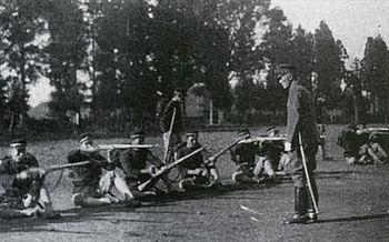 3>-開戦- 校庭で銃構えた中学生 第2部 銃後の思い とちぎ戦後70 ...