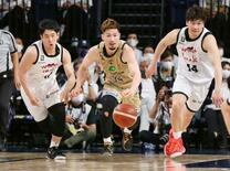 Bリーグ、琉球が4強入り
